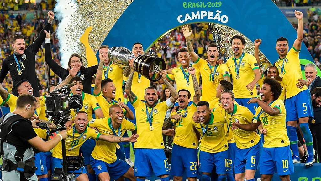 Brazil Beats Peru 3-1 to Win Copa America