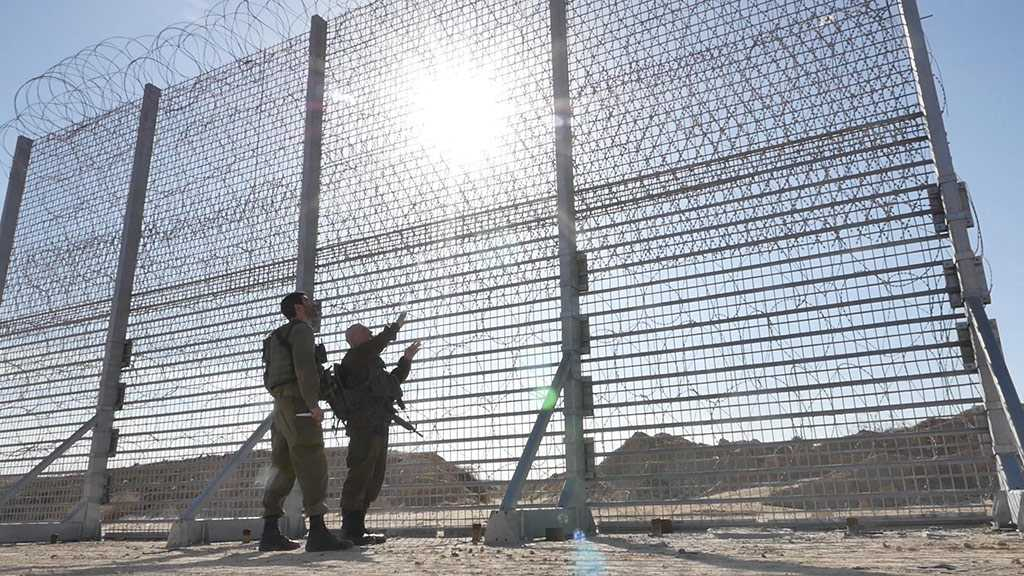 «Israel» Keeps Eye on Southern Border, Builds More Barriers