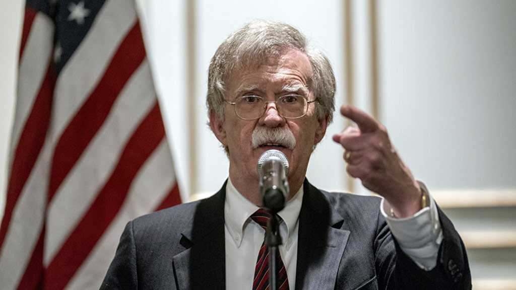 Bolton: US to Increase Pressure on Iran until Tehran Ends Nuke Program