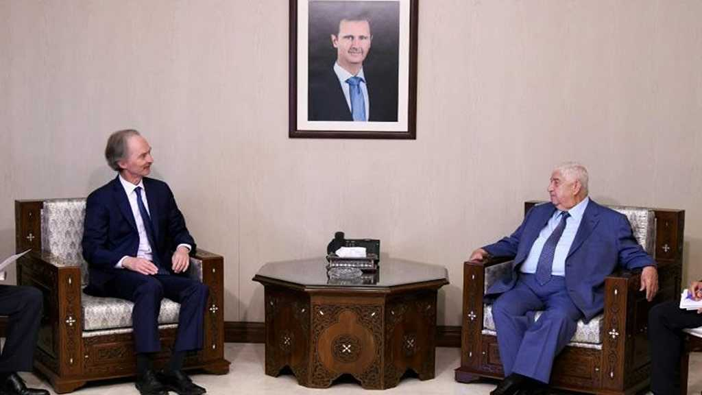Syria Says Progress towards Talks on Post-War Constitution