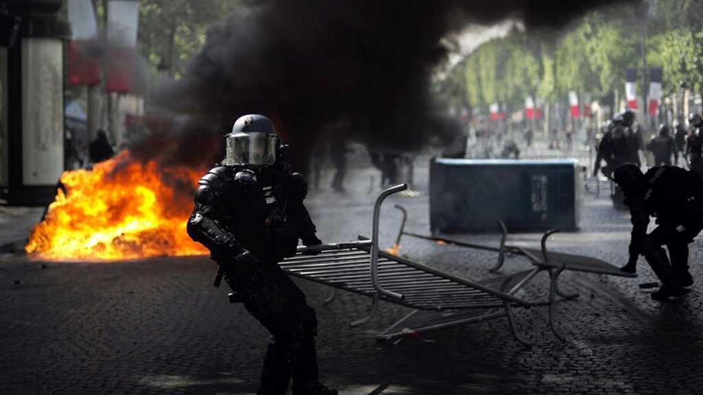 Paris Clashes Tarnish Macron's Military Parade