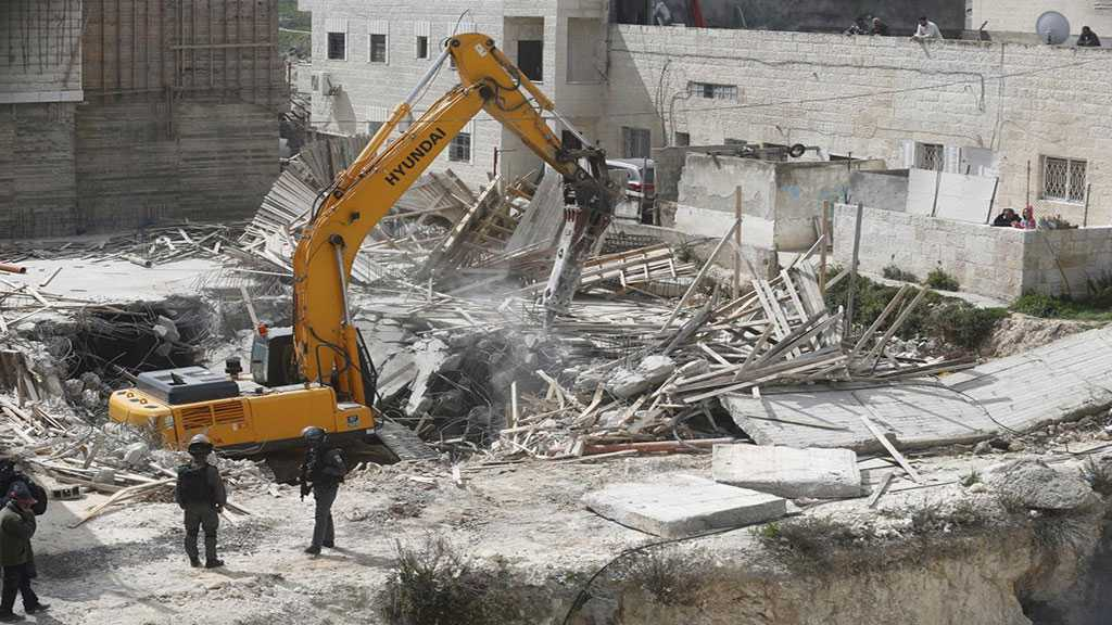 'Israeli' Forces Start Demolishing Palestinian Homes in Occupied Al-Quds