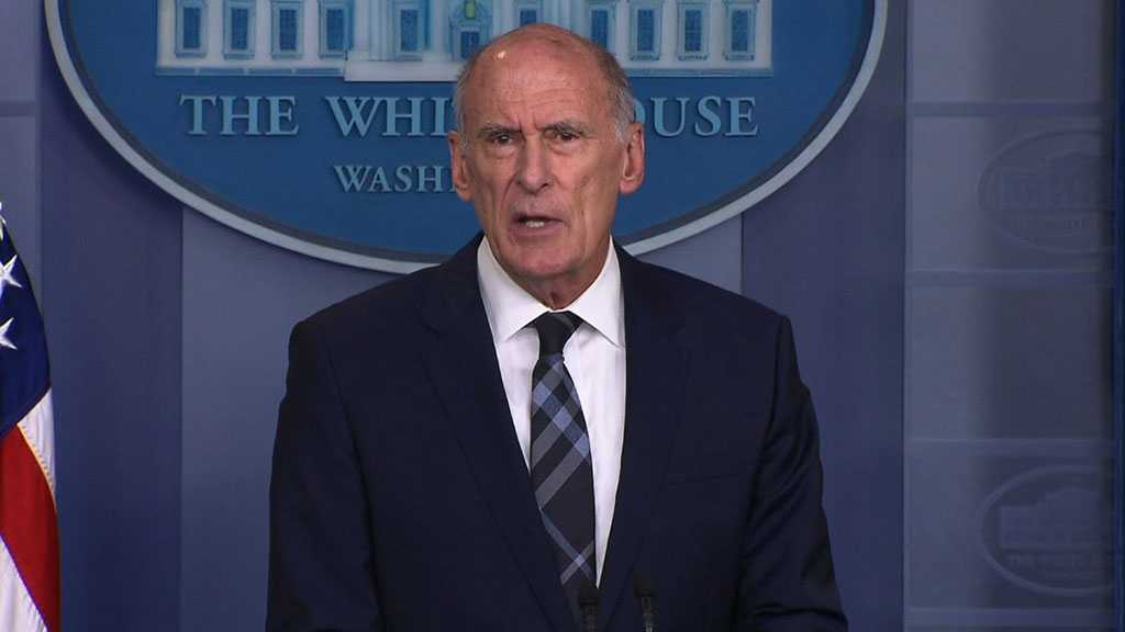 Trump: US Intel Chief Coats to Leave Office August 15