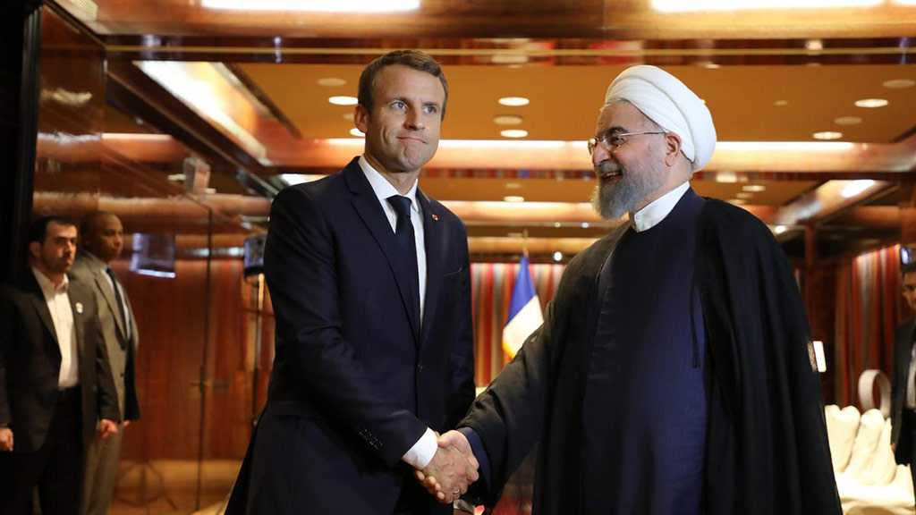 Macron, Rouhani Hold Talks Over Iran-US Tensions