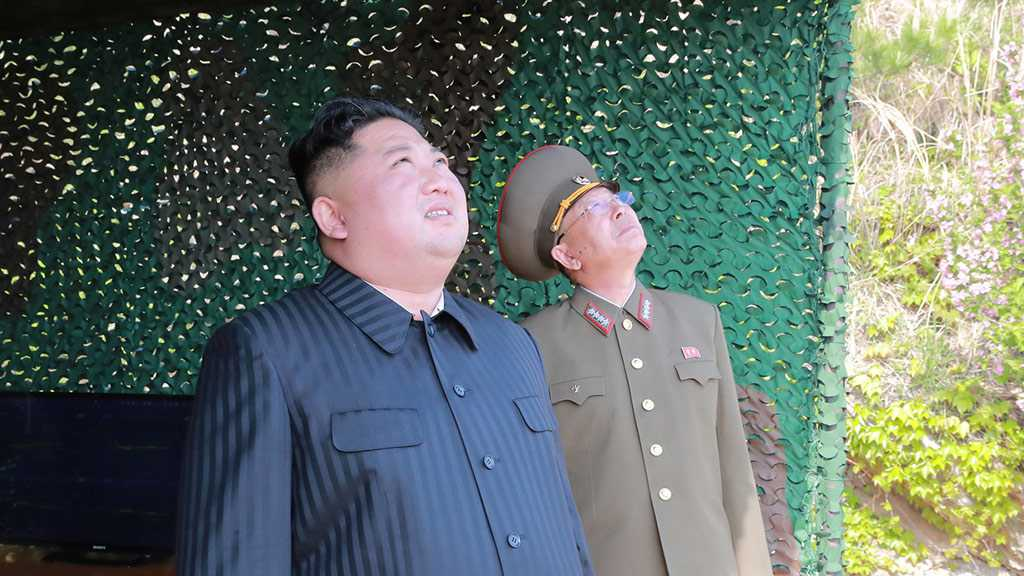 Kim Oversees Launch of New Guided Rocket System