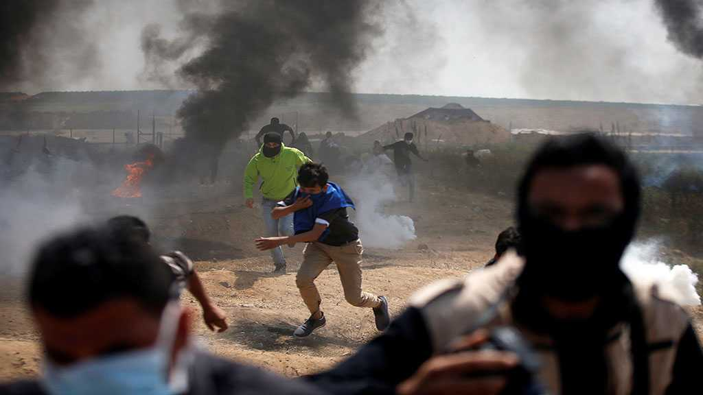 Palestinian Martyred By 'Israeli' Troops at Gaza Border
