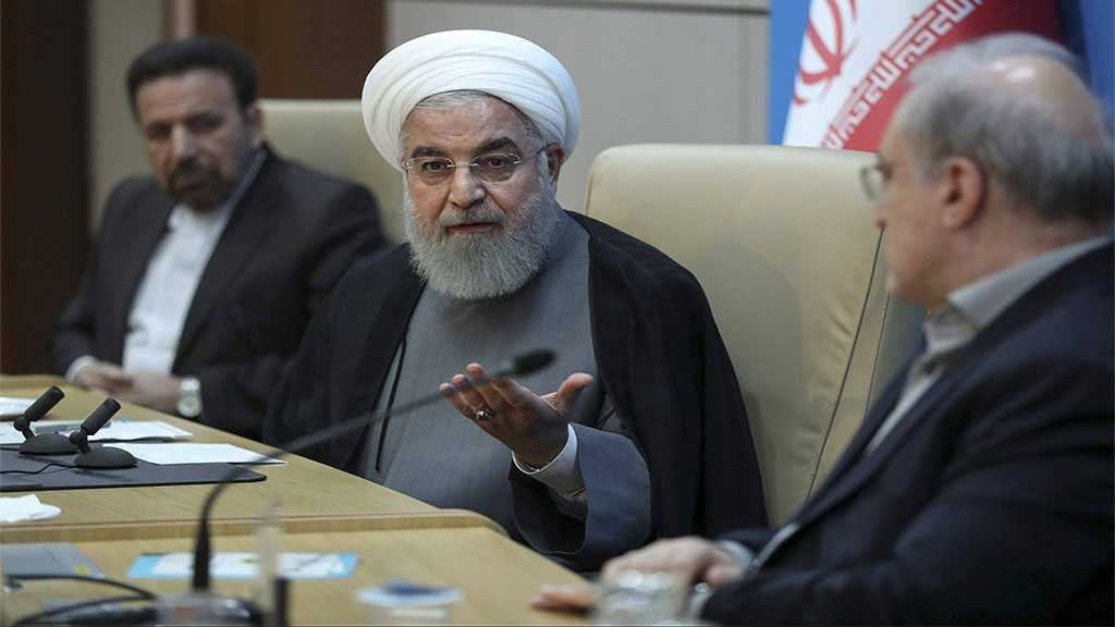 Rouhani Slams US Childish Sanctions on Zarif: US Afraid of Iran's Top Diplomat