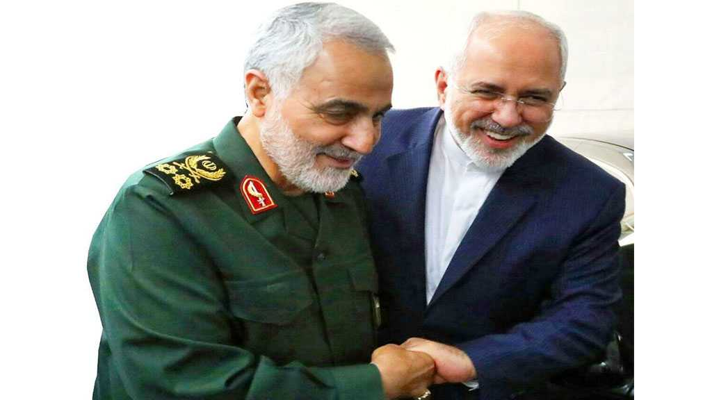 Soleimani at Iran's Foreign Ministry: US Sanctions on Zarif Are Insane, Sign of Defeat