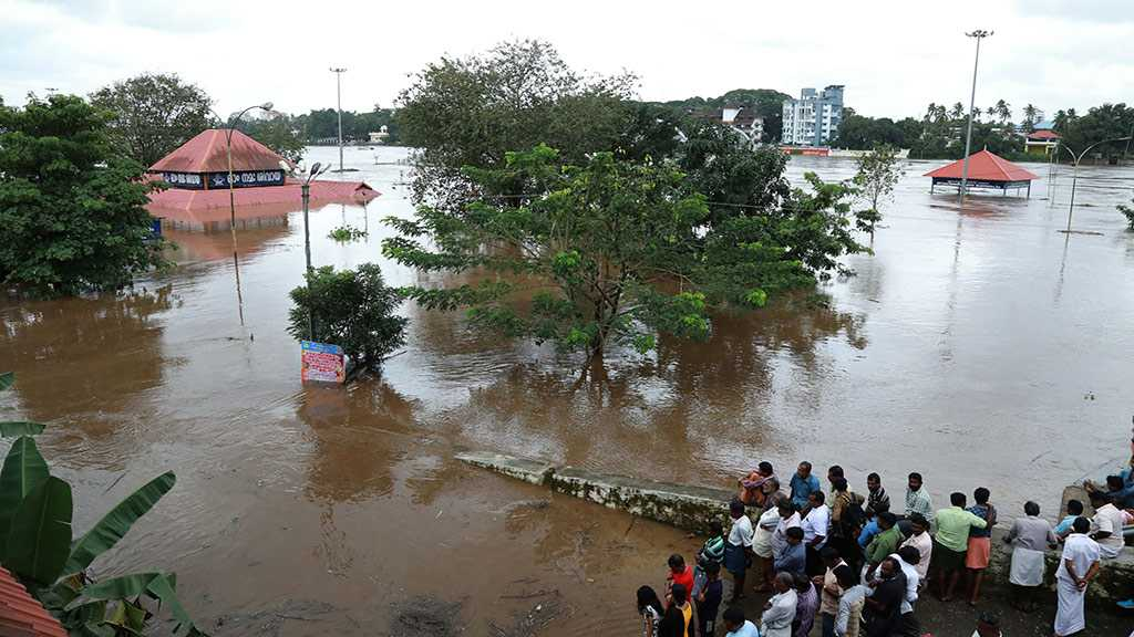 India Floods: 33 Killed, Thousands Displaced Across Country