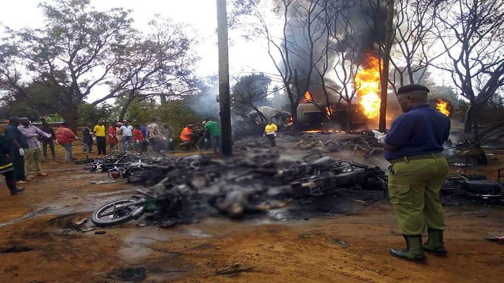 Tanzania Fuel Tanker Explosion: At Least 61 Killed