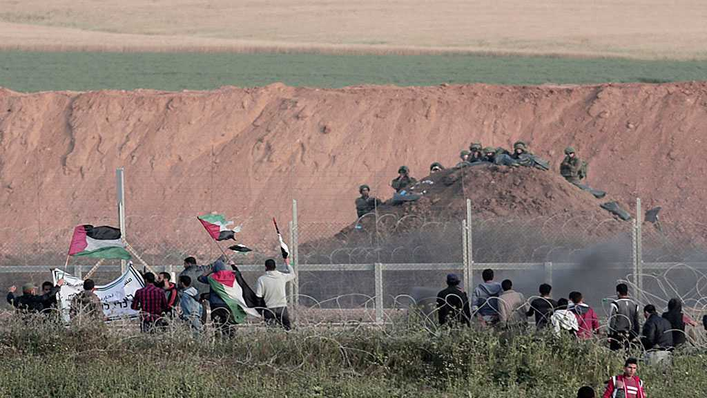 Four Palestinians Martyred By 'Israeli' Fire near Gaza Fence