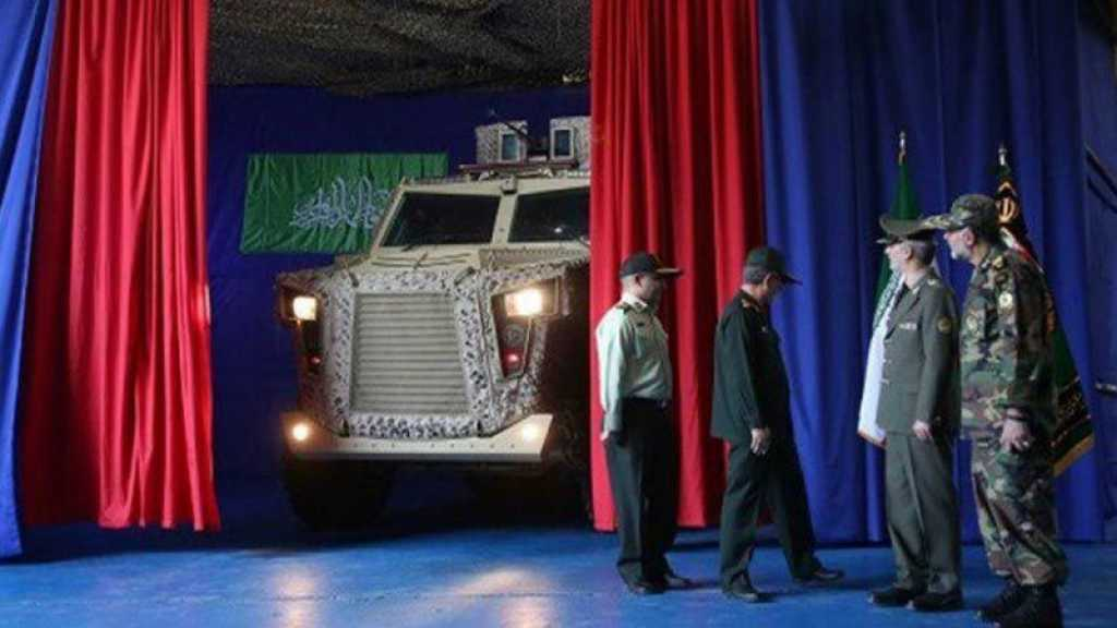 Iran Unveils New Homegrown Armored, Tactical Vehicles