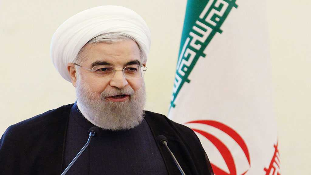Rouhani Scorns 'Israeli' Bid for Regional Security: They'd Better Protect Their Own Security If They Can