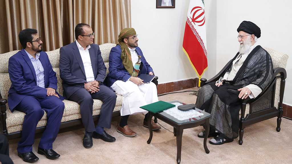 Imam Khamenei Receives Ansarullah Delegation, Urges Resistance against Saudi-UAE Bid to Split Yemen
