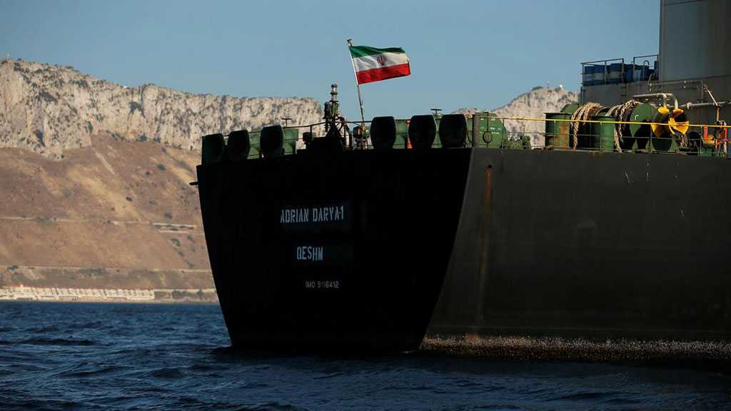 Released Iran-operated Tanker Sets Sail from Gibraltar