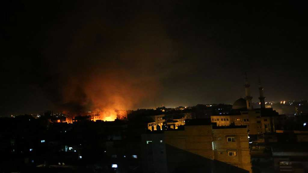 'Israeli' Warplanes Strike Gaza Strip