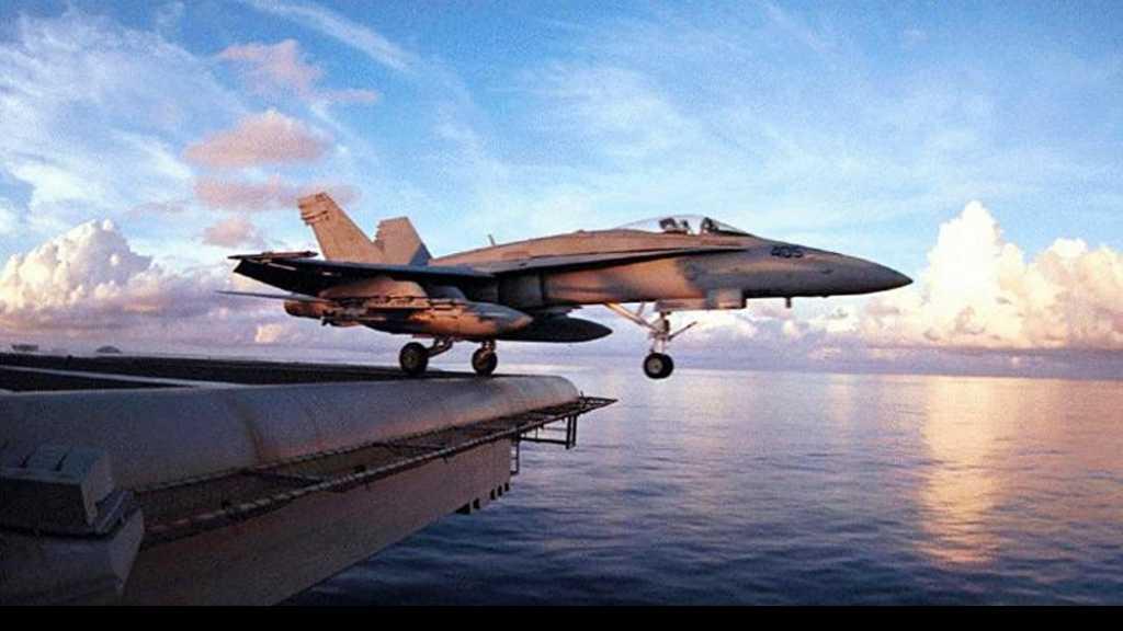 Landing Accident on US Aircraft Carrier Damages Four Super Hornet Jets