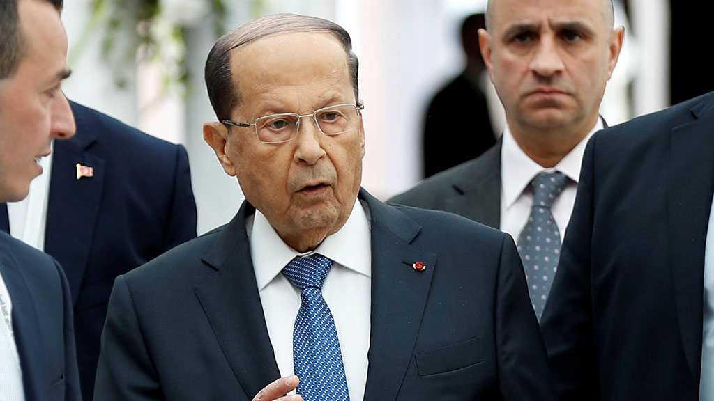"""Lebanese President Aoun Met with UN Official over """"Israeli"""" Assault"""