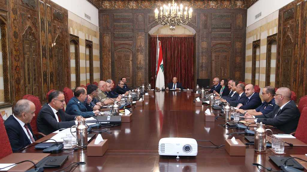 "Lebanon Affirms Right to Self-Defense against ""Israeli"" Aggression"