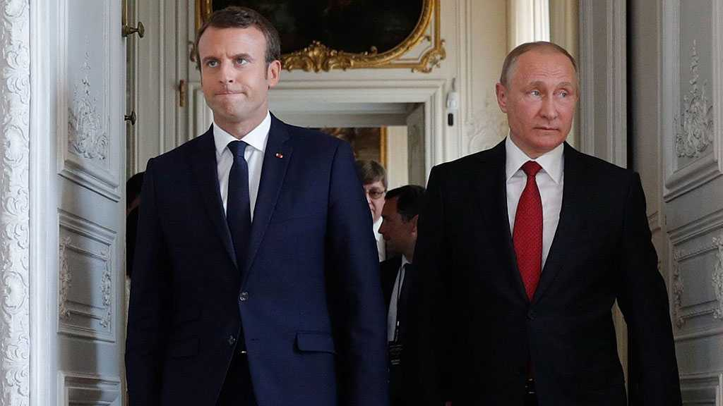 Putin Backs Macron's Initiative to Save Iran Nuclear Deal