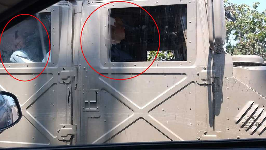 More Eligible? 'Israel' Places Dummies inside Military Vehicles on Lebanon Border!