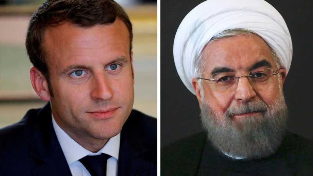Iran to Macron: Talks with US Meaningless under Sanctions