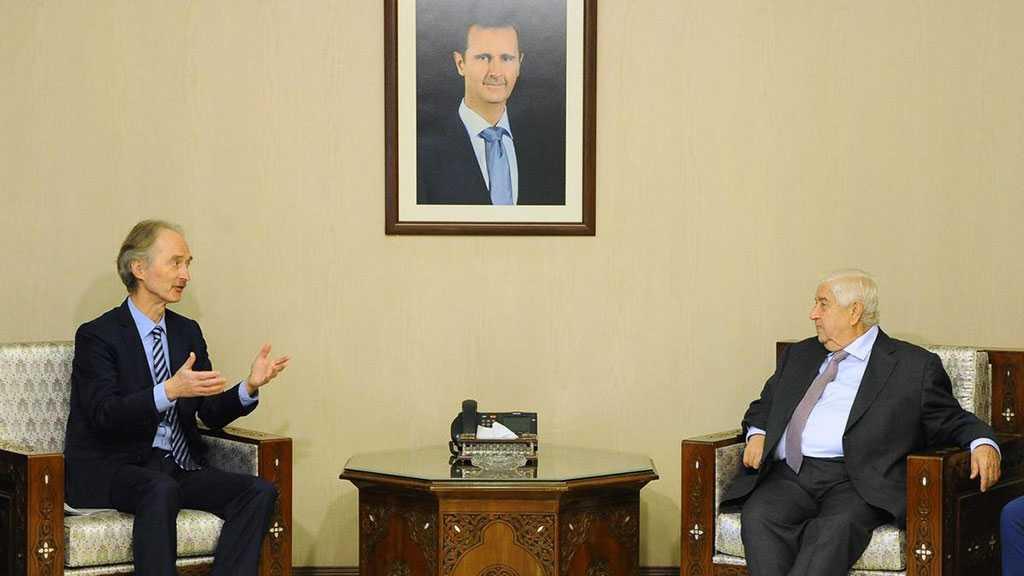 Pedersen in Damascus: Fresh Talks to Form a New Constitution