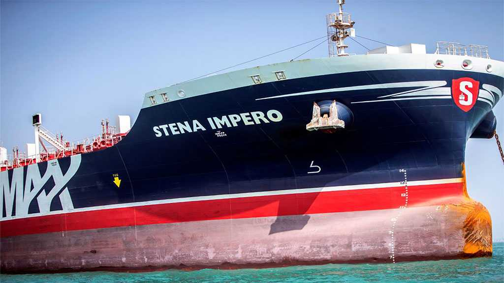 UK-Flagged Tanker Detained By Iran Exits Port, Tracking Data Shows