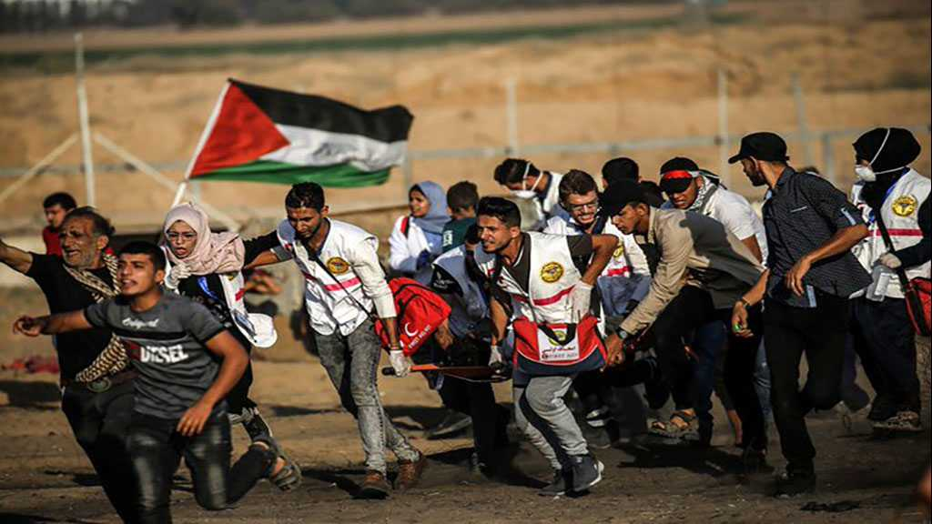 Great Return March: 63 Palestinians Injured by 'Israeli' Fire on Gaza Border, 4 Paramedics Included
