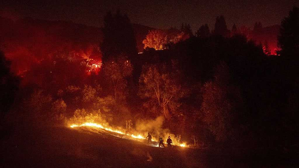 Wildfires Break Out In California amid Power Outage