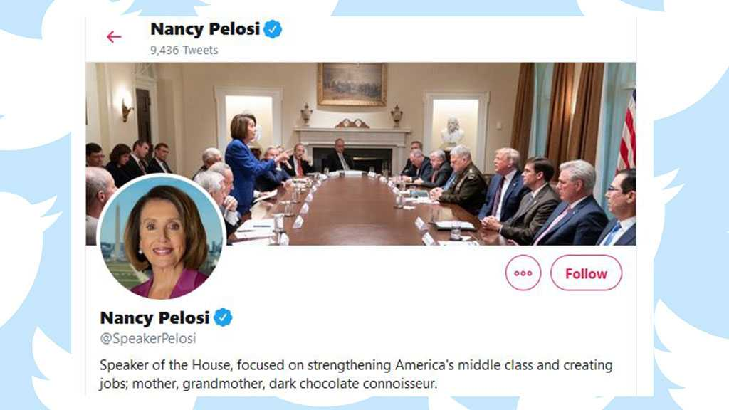 Trump Tweets Photo Attacking Pelosi – She Made It Her Twitter Cover Photo