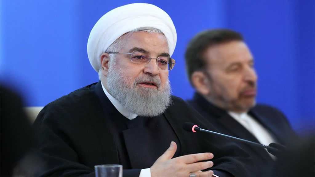 Rouhani Urges Global Consultations on Palestine, Yemen