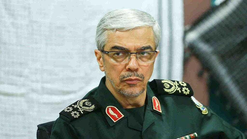 Iran's Chief of Staff Warns Enemies of Suffering Heavy Casualties If Country Attacked