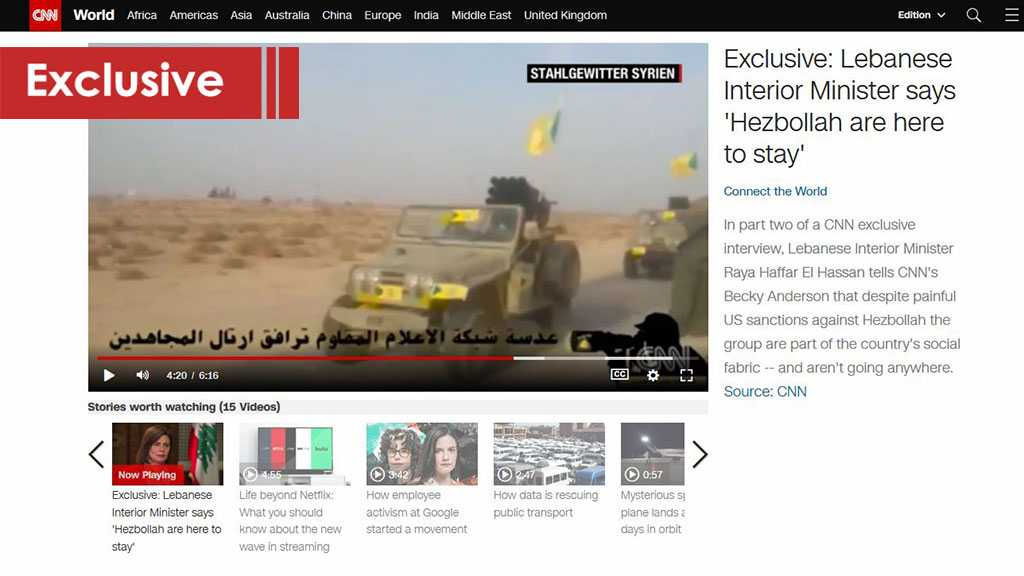 CNN Did Not Do Its Homework Well Regarding Hezbollah! Or Did It?