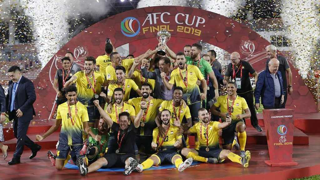 Al-Ahed Becomes First Lebanese Club to Win AFC Cup
