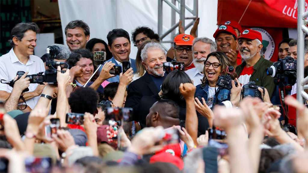 Brazil's Ex-President Lula da Silva Freed from Prison