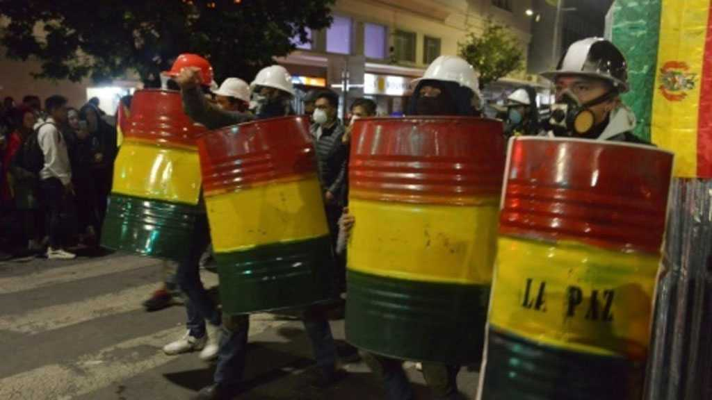 Bolivian Police Joins Opposition As Crisis Mounts