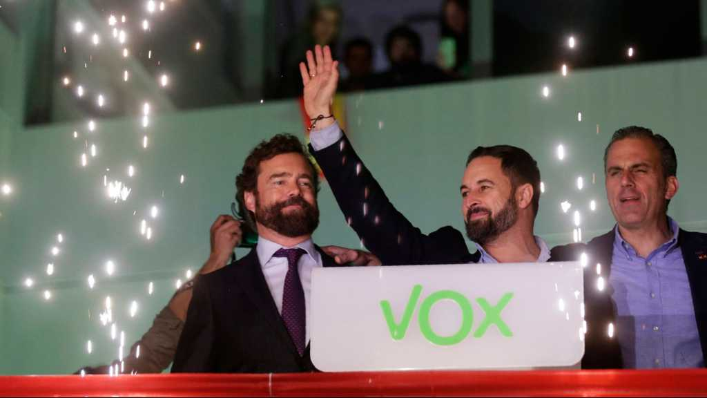 Spain: Socialists Win General Vote, Right-Wing Vox Surges to Third Place