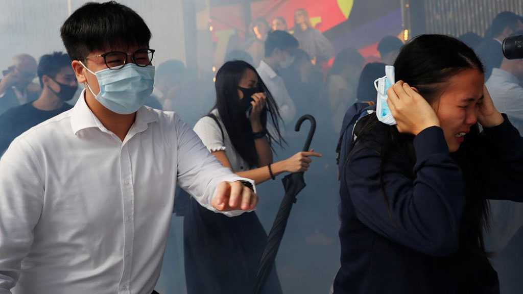 Hong Kong Violence Prompts Warning That China Troops Close At Hand