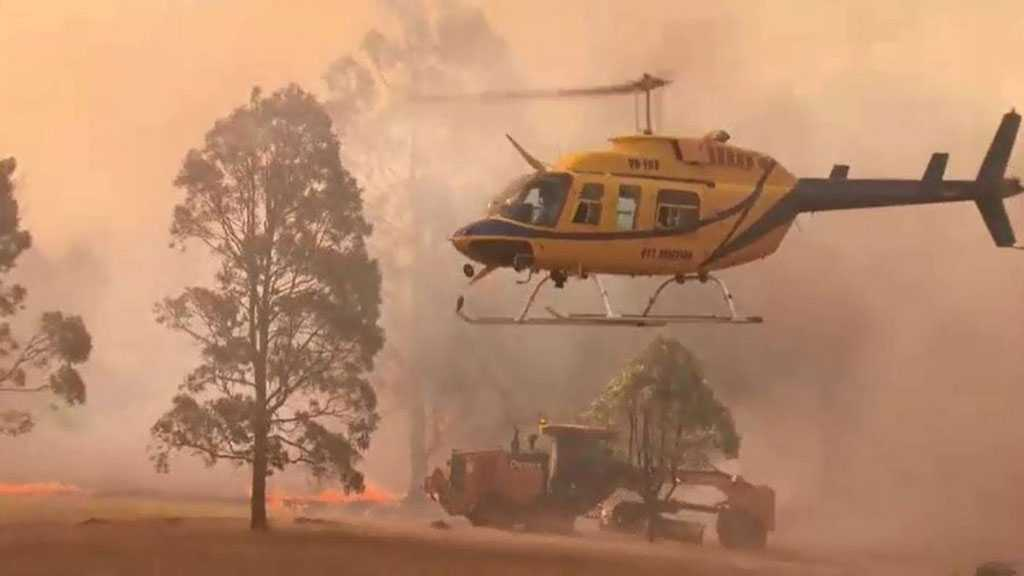 Water-Bombing Helicopter Crashes While Fighting Bushfires in Australia