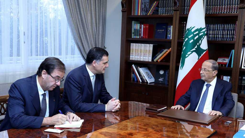 France Willing To Help Lebanon: Envoy Tells President Aoun