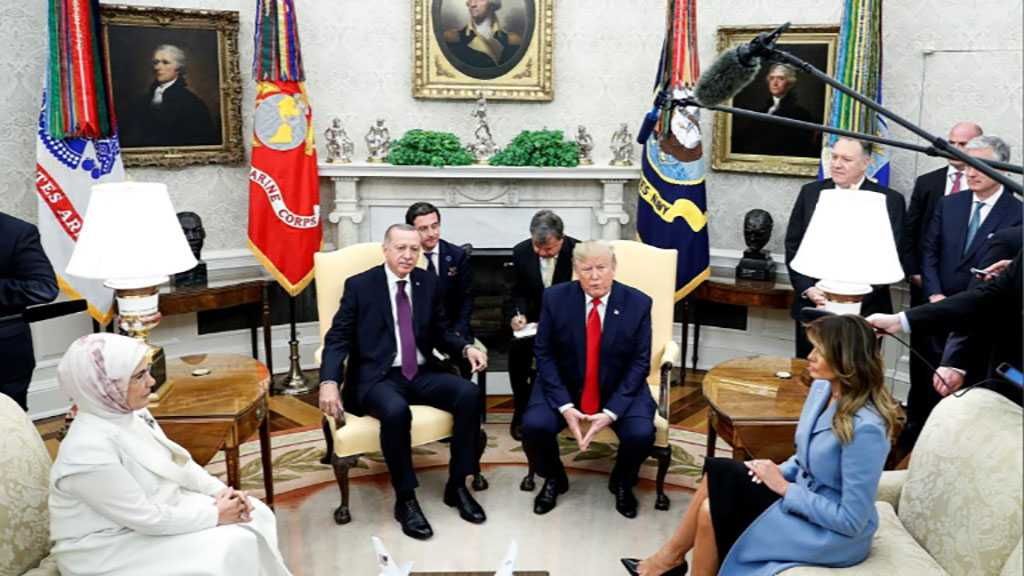 Trump 'Warmly' Receives Erdogan in the White House, Protesters Denounce His Visit