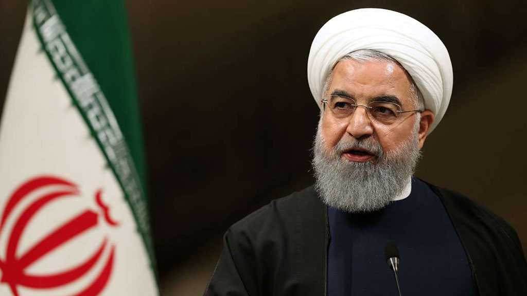 Rouhani: US Stirs Up Tension, Conflicts in Middle East
