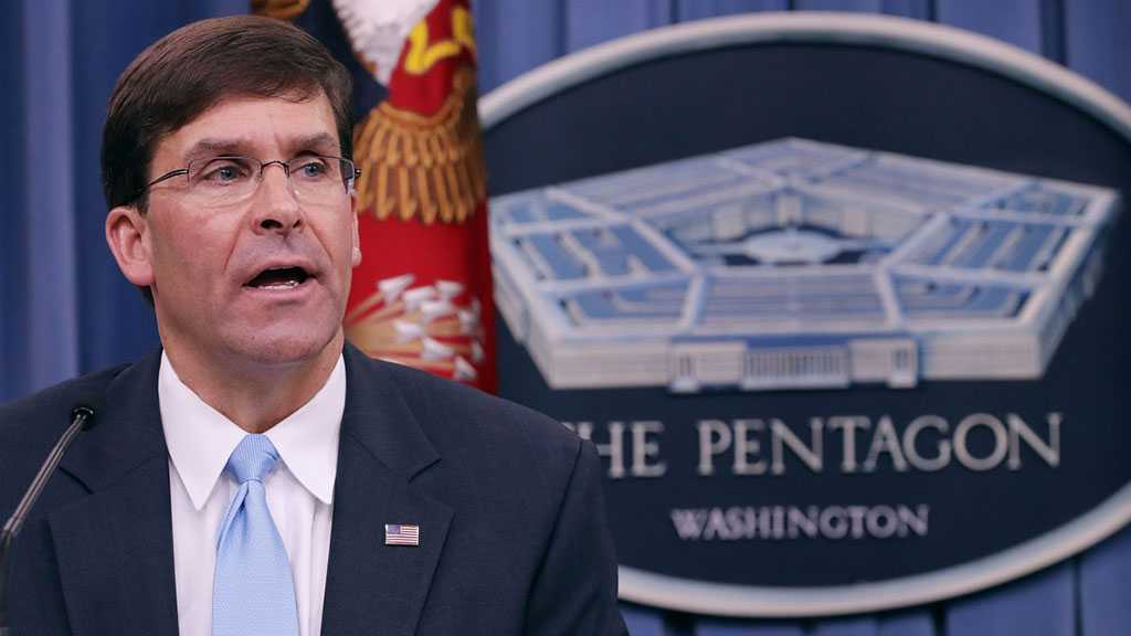 Pentagon Chief: US to Keep Around 600 Troops in Syria