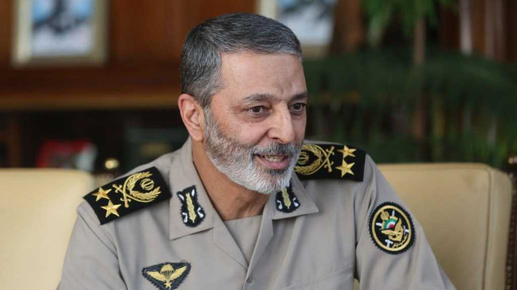 Iranian Army Chief: False Coalitions Cannot Keep Hormuz Strait Secure