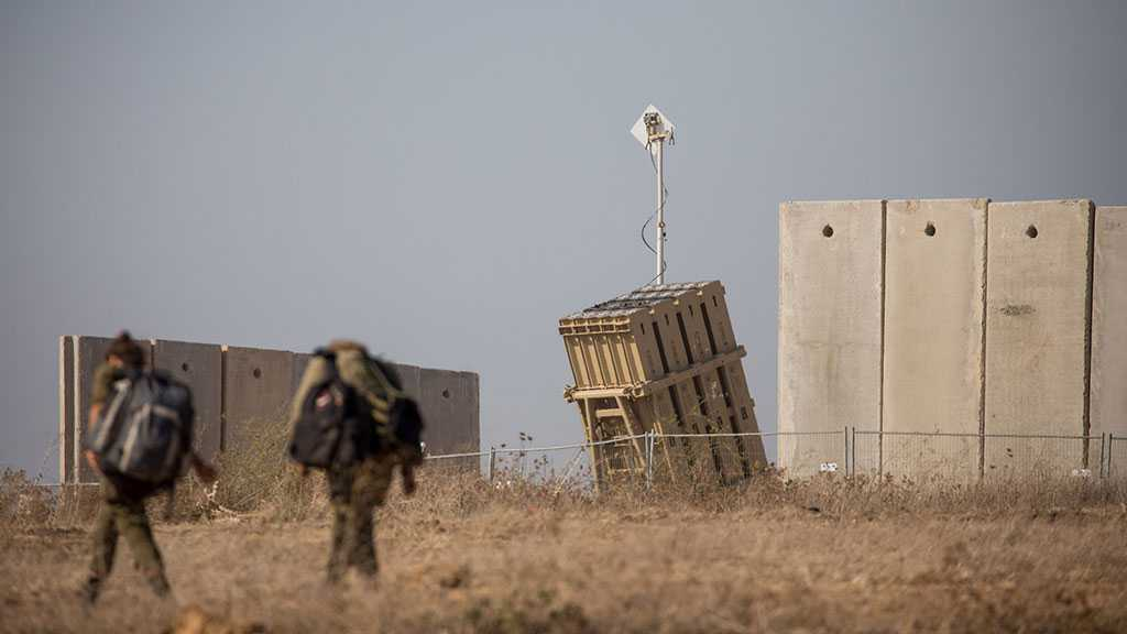 «Israel» Claims Intercepted Four Projectiles Allegedly Launched from Syria