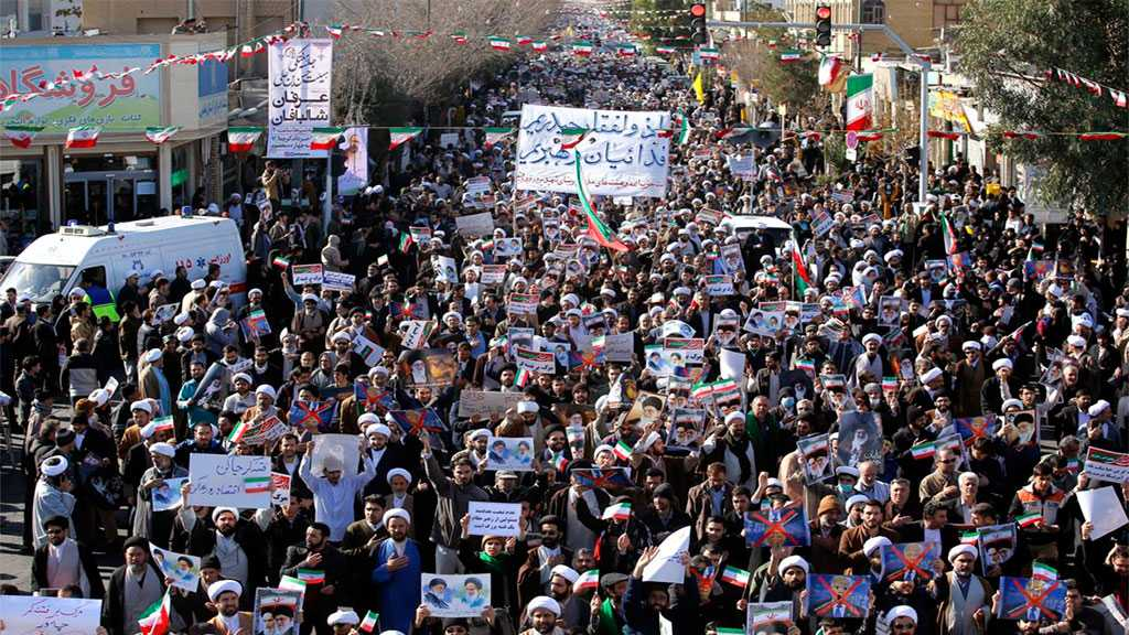 Iranians Hold Massive Anti-rioting Rallies in Several Cities