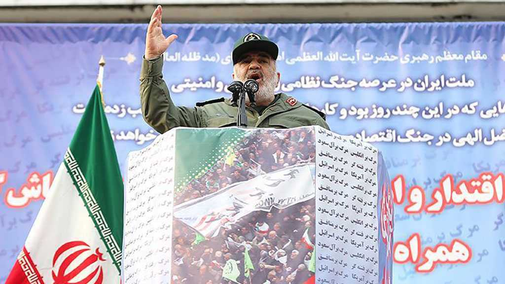 IRGC Chief Warns Iran's Enemies: 'Crossing Redlines Equals Your Destruction'