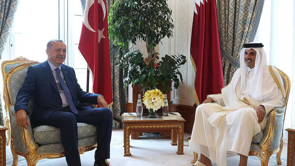 Erdogan Stresses Military Ties with Qatar