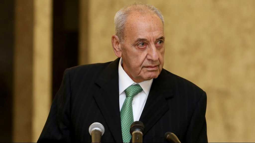 Lebanese Parliament Speaker Says Upcoming Gov't Must Be Techno-Political
